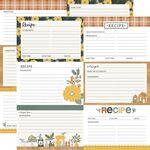 Recipe Cards Paper - Hearth & Home - Simple Stories - PRE ORDER