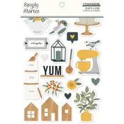Hearth & Home Sticker Book - Simple Stories - PRE ORDER