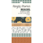 Hearth & Home Washi Tape - Simple Stories - PRE ORDER
