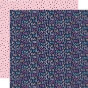 Lots of Love Paper - Happy Hearts - Simple Stories - PRE ORDER