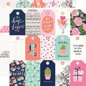 Tags Paper - Happy Hearts - Simple Stories - PRE ORDER