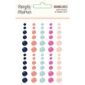 Happy Hearts Enamel Dots - Happy Hearts - PRE ORDER