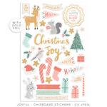 Joyful Chipboard Stickers - Cocoa Vanilla Studio - PRE ORDER