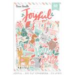Joyful Die Cut Ephemera - Cocoa Vanilla Studio - PRE ORDER