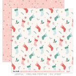 Feeling Festive Paper - Joyful - Cocoa Vanilla Studio - PRE ORDER