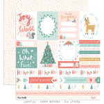 Very Merry Paper - Joyful - Cocoa Vanilla Studio - PRE ORDER