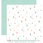 Deck The Halls Paper - Joyful - Cocoa Vanilla Studio - PRE ORDER