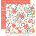 Tis The Season Paper - Joyful - Cocoa Vanilla Studio - PRE ORDER