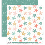 Making Spirits Bright Paper - Joyful - Cocoa Vanilla Studio - PRE ORDER