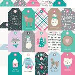 Tags Paper - Feelin' Frosty - Simple Stories - PRE ORDER