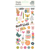 Good Stuff Puffy Stickers - Simple Stories - PRE ORDER