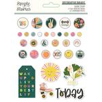 Good Stuff Decorative Brads - Simple Stories - PRE ORDER
