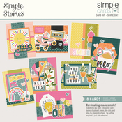 Simple Cards Card Kit Shine On! - Simple Stories - PRE ORDER