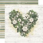 Love You More Paper - Simple Vintage Weathered Garden - Simple Stories