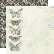 Fills My Heart Paper - Simple Vintage Weathered Garden - Simple Stories