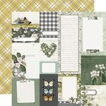 Journal Elements Paper - Simple Vintage Weathered Garden - Simple Stories