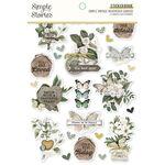 Simple Vintage Weathered Garden Sticker Book - Simple Stories