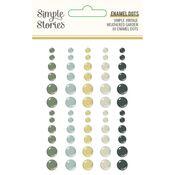 Simple Vintage Weathered Garden Enamel Dots - Simple Stories