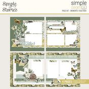 Simple Pages Page Kit Moments Together - Simple Stories