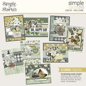 Simple Cards Card Kit Rise & Shine - Simple Stories