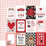 3x4 Journaling Cards Paper - Hello Valentine - Echo Park - PRE ORDER - PRE ORDER