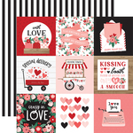 4X4 Journaling Cards Paper - Hello Valentine - Echo Park - PRE ORDER - PRE ORDER