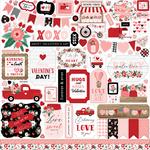 Hello Valentine Element Sticker - Echo Park - PRE ORDER - PRE ORDER