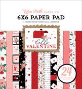 Hello Valentine 6x6 Paper Pad - Echo Park - PRE ORDER - PRE ORDER
