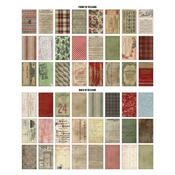 Christmas Backdrops Double-Sided Cardstock - Tim Holtz Idea-ology - PRE ORDER