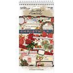 Christmas Spiral Bound Sticker Book - Tim Holtz Idea-ology - PRE ORDER