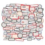 Labels Ephemera Snippets - Tim Holtz Idea-ology - PRE ORDER