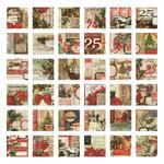 Christmas Collage Tiles - Tim Holtz Idea-ology - PRE ORDER