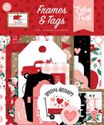 Hello Valentine Frames & Tags - Echo Park - PRE ORDER - PRE ORDER