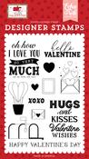 Hello Valentine Stamp Set - Echo Park - PRE ORDER - PRE ORDER