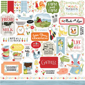 Farmhouse Living Element Sticker - Carta Bella - PRE ORDER - PRE ORDER