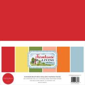 Farmhouse Living Solids Kit - Carta Bella - PRE ORDER - PRE ORDER