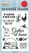 Farm Fresh Stamp Set - Farmhouse Living - Carta Bella - PRE ORDER - PRE ORDER