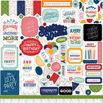 Birthday Salutations Element Sticker - Echo Park - PRE ORDER - PRE ORDER