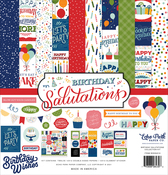 Birthday Salutations Collection Kit - Echo Park - PRE ORDER - PRE ORDER