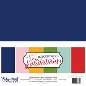 Birthday Salutations Solids Kit - Echo Park - PRE ORDER - PRE ORDER