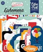 Birthday Salutations Ephemera - Echo Park - PRE ORDER - PRE ORDER