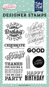 Happy Birthday To You Stamp Set - Birthday Salutations - Echo Park - PRE ORDER - PRE ORDER