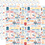 Yippee Paper - Birthday Boy - Echo Park - PRE ORDER - PRE ORDER