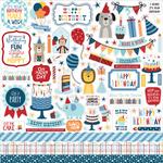 Birthday Boy Element Sticker - Echo Park - PRE ORDER - PRE ORDER
