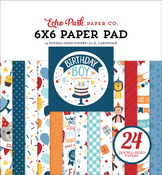 Birthday Boy 6x6 Paper Pad - Echo Park - PRE ORDER - PRE ORDER