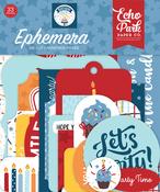 Birthday Boy Ephemera - Echo Park - PRE ORDER - PRE ORDER