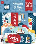 Birthday Boy Frames & Tags - Echo Park - PRE ORDER - PRE ORDER