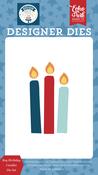Boy Birthday Candles Die Set - Echo Park - PRE ORDER - PRE ORDER