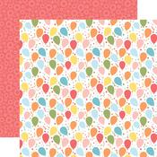 Bouncing Balloons Paper - Birthday Girl - Echo Park - PRE ORDER