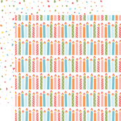 Cluster of Candles Paper - Birthday Girl - Echo Park - PRE ORDER